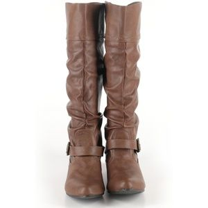 Mossimo supply tall boots women, size 6/12